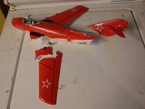 Broken Baby MiG 9-2-12