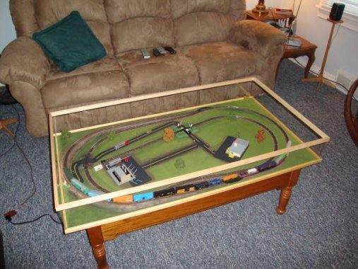 Train Coffee Table