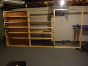 12 Feet of Shelves