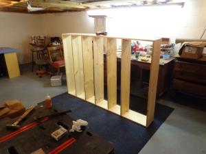Building the bookshelf