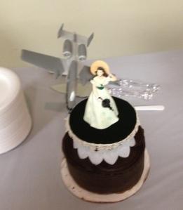 Cake Topper on Cake