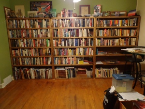 Full Bookshelves