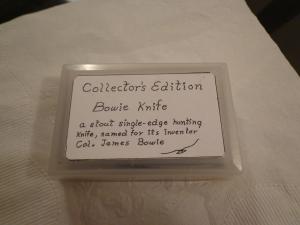 Mini Bowie Knife 1