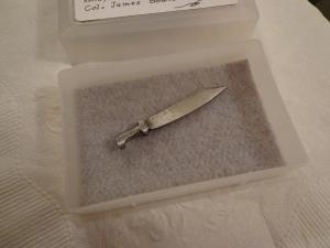 Mini Bowie Knife 2