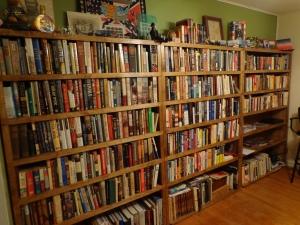 My Full Bookshelves