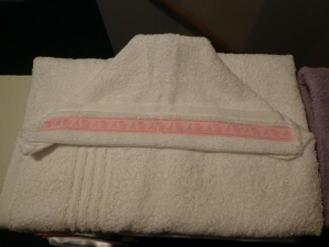 Girl Baby Towels