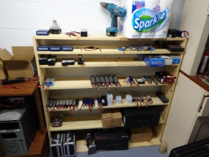 Battery Shelf