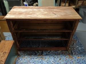Dresser After Second Stripping