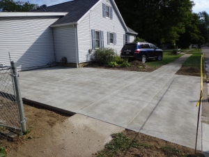 Driveway Day 3 Finished