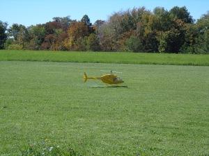 Fun Fly - Yellow Heli