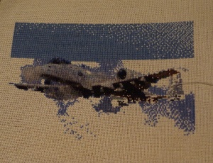 Warthog Cross Stitch 9-23-13