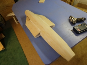 Panther Shaped Fuselage 10-23-13