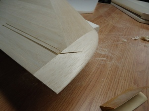 A4 Carved Wingtip