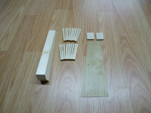 A4 Match Sticks