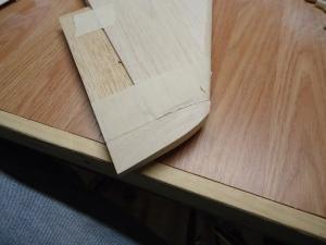 A4 Precarved Tail