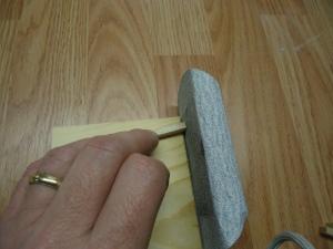 A4 Rudder Sanding Jig