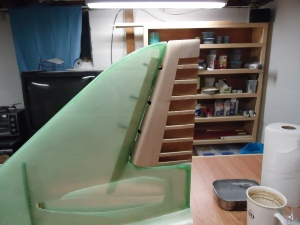 A4 Hinged Rudder Fit