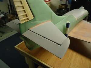 A4 Tail Glued and Filled
