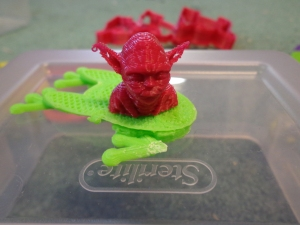 3D Printed Yoda