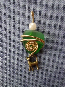 Beach Glass Pendant #4