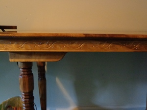 Sewing Table Detail