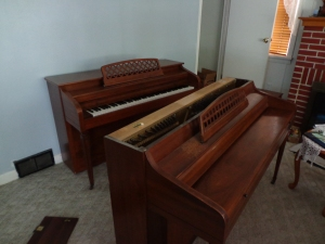 New and Old Piano
