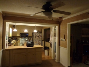 Dining Room Before - 2