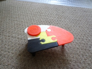3D Printed Enable Button and Table