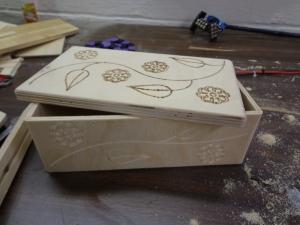 CNC Jewelry Box