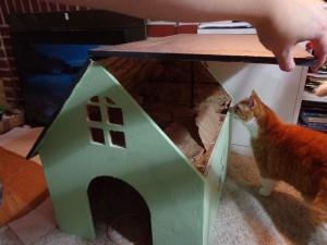 CNC Router Cat House 2