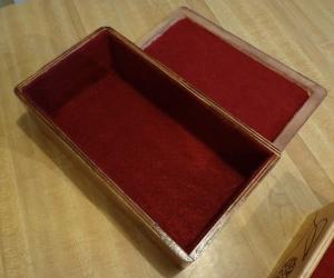 CNC Jewelry Box Lined 2