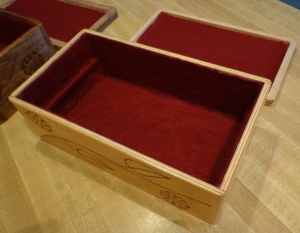 CNC Jewelry Box Lined 3