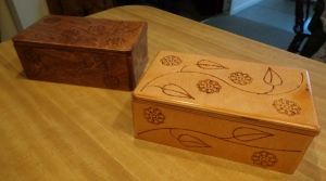 CNC Jewelry Box Stained 1