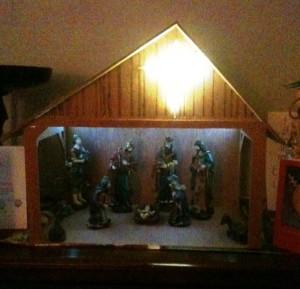 CNC Router Nativity Set