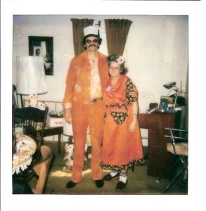 Father and Grandma