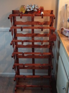 CNC Wine Rack 1