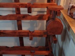 CNC Wine Rack #4 12-25-14