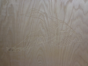 CNC Router - Flying Duck