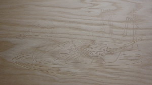 CNC Router - Swimming Duck