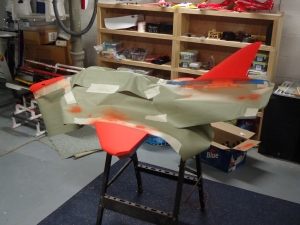 A-4 Paint Scheme Going On