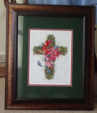 Winter Cross Framed 4-18-15