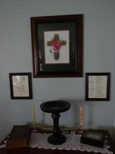 Winter Cross Hanging 4-26-15