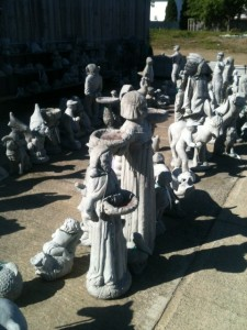 Concrete Statues