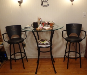 Bistro Chairs Before