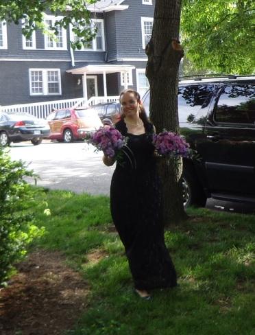 Delivering Raven's Bouquet