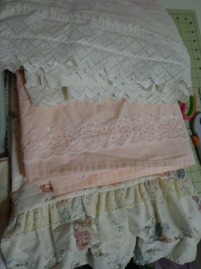 Dresses for Missions Sheet Edging