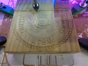 Routing the Coast Guard - CNC Router