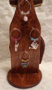 Gardener Wine Glass Charms