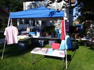 Our Craft Tent