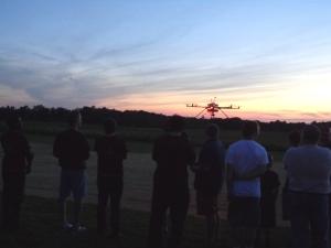 PreShow - Octocopter Flight
